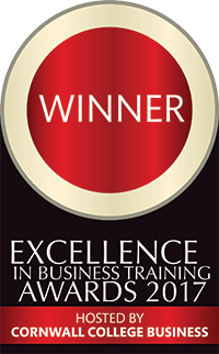 Winner - Excellence in Business Training Awards 2017